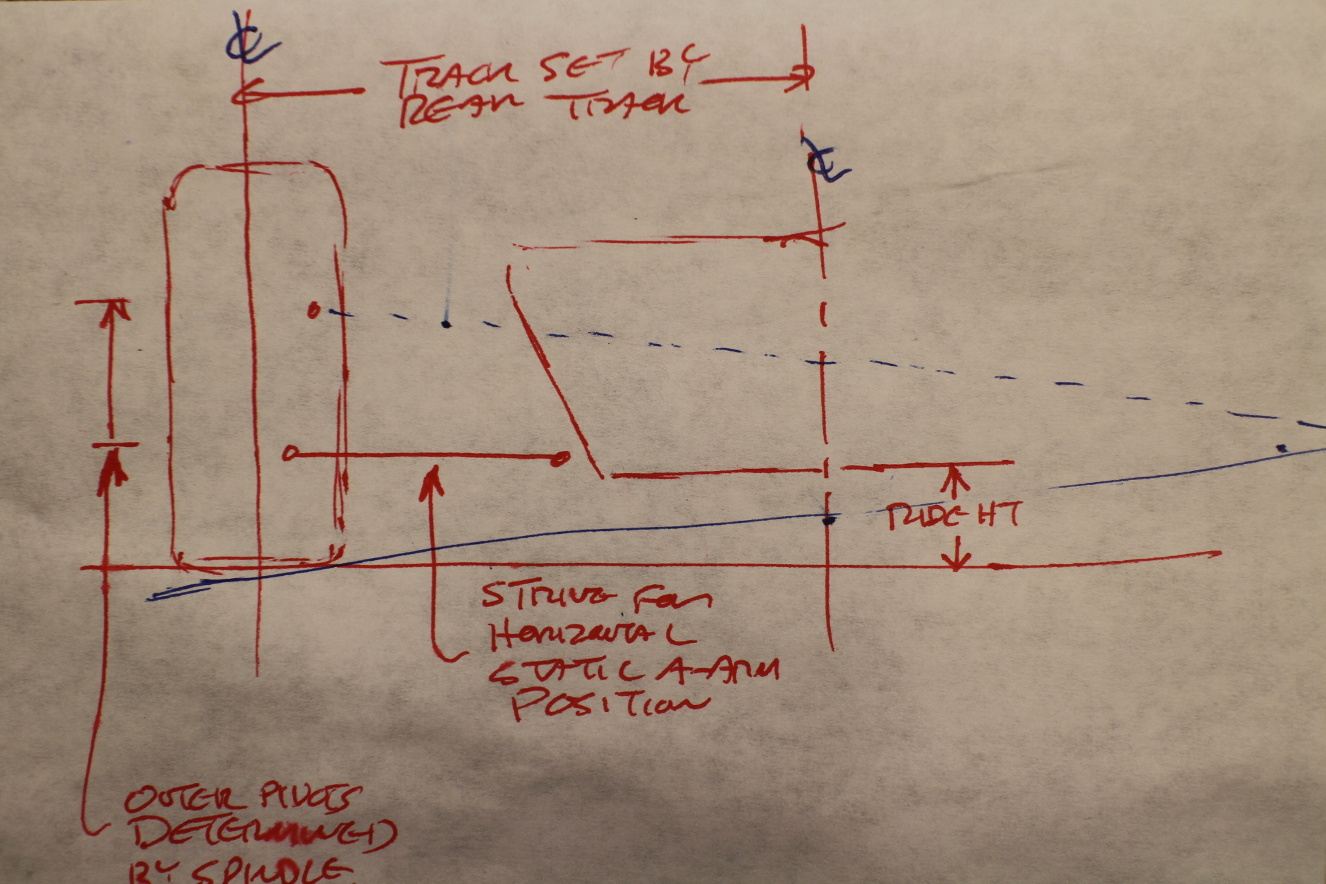 Locost Jerrys Build Log Jegs Roll Control Wiring Diagram Napkin Suspension Geometry Sketch
